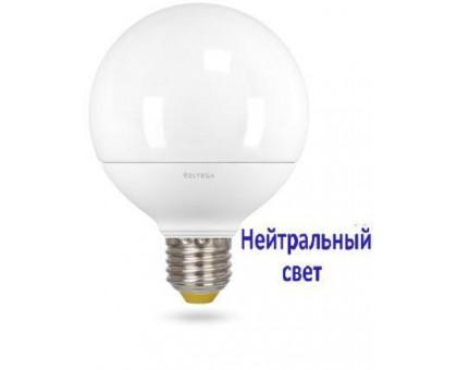 LED Лампа VOLTEGA 6954/VG2-G2E27cold14W Шар