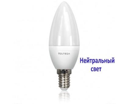 LED Лампа VOLTEGA 7065/VG2-C37E14cold10W Свеча