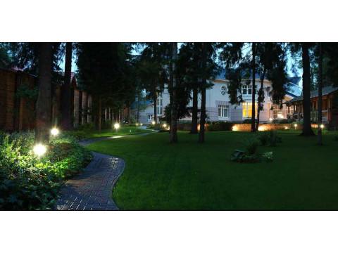 Освещение садового участка: виды подсветки
