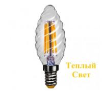 LED Лампа VOLTEGA 7002/VG10-CC1E14warm4W-F Свеча шишка