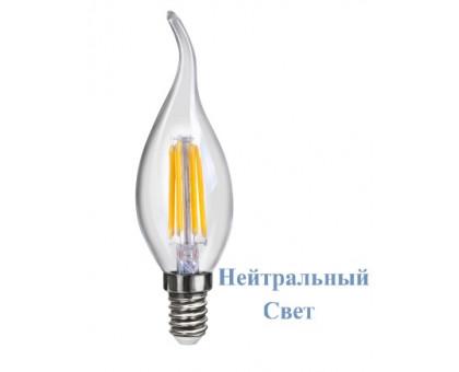 LED Лампа VOLTEGA 7005/VG10-CW1E14cold4W-F Свеча на ветру